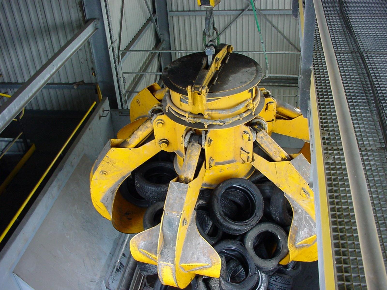 Des pneus servant de combustibles solides de récupération